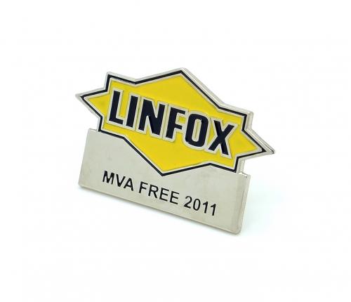 LINFOX Lapel Pin